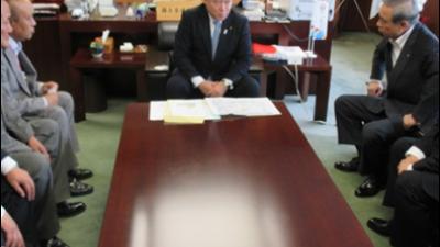 2017-08-26 大井川かずひこ茨城県知事候補そして大井川かずひこ遊説隊皆さんをお迎え 2