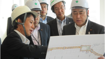 2017-08-21 茨城県知事候補者大井川かずひこ 街頭演説 1 4
